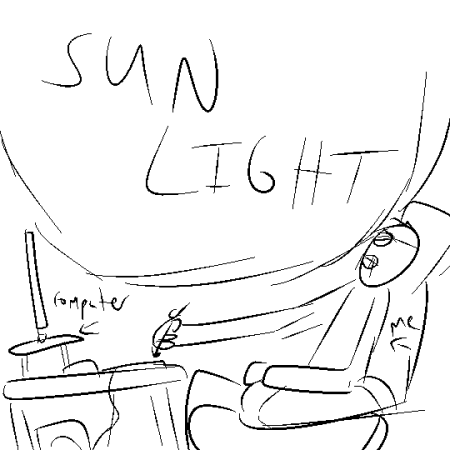 EWWWW, natural light.